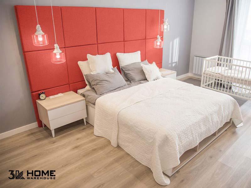 Kết hợp màu sàn gỗ hiệu quả cùng tông Pantone cam san hô 2019 - 269389