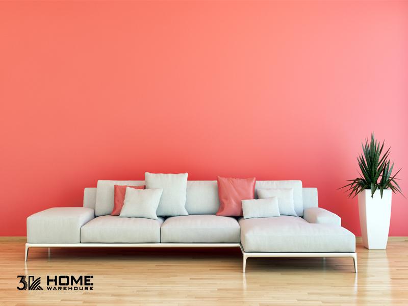 Kết hợp màu sàn gỗ hiệu quả cùng tông Pantone cam san hô 2019 - 269387